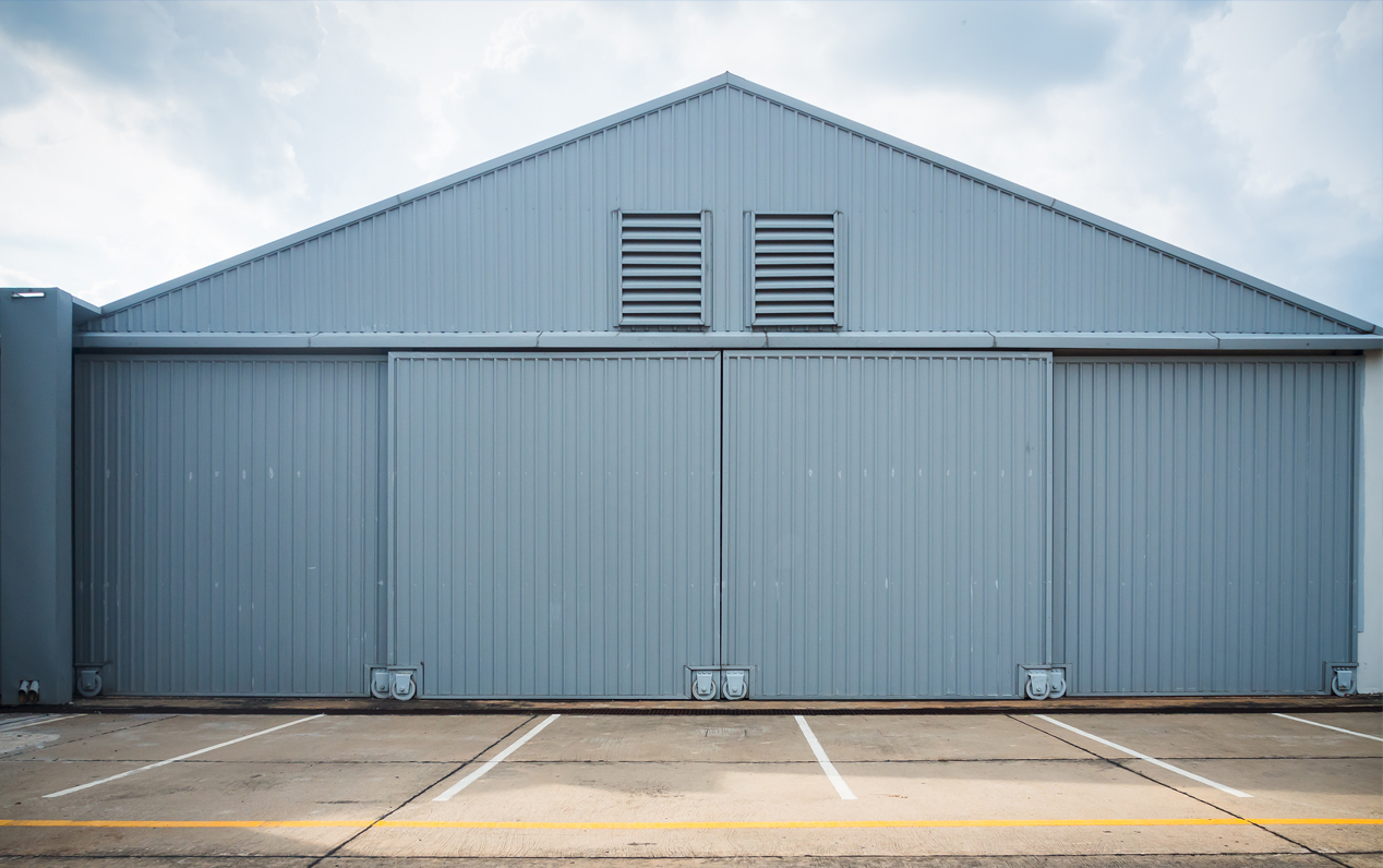 Warehouse hangar