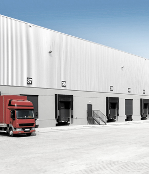 Logistics warehouse Agribusiness